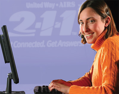 Access Kane County services by calling 2-1-1