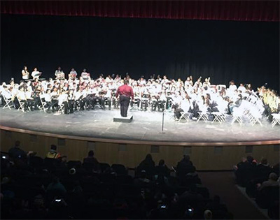 Elementary band concert December 20