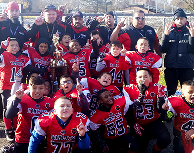 Tomcat Youth Football team wins Super Bowl